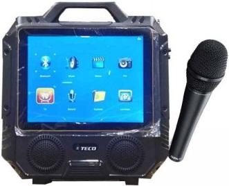 Teco T13 14″ Color TFT LED TV Bluetooth Karaoke Player